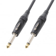 Cabo Profissional Jack 6,3mm Macho Mono - Jack 6,3mm Macho Mono (9 mts) - Power Dynamics CONNEX
