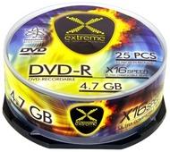 DVD-R 16X 4,7GB (Pack 25 Unidades)
