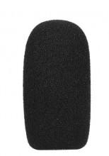 Esponja para microfone mini preto 62x30x14 milímetros