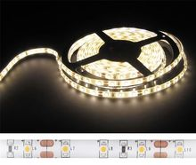 Fita 300 LEDs SMD5050 IP65 Branco Quente 3000K 24V - 5 mts