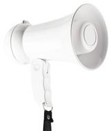 Magafone 15 W com Microfone Integrado - Branco