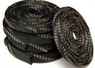 Manga trançada Têxtil Expansível 10 milímetros (tira de 1 metro)