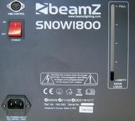 Máquina de Neve 1800W