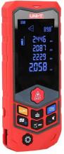 """Medidor de Distâncias a Laser c/ Curvatura 2,4"""" USB IP65 (100 mts) - UNI-T"""