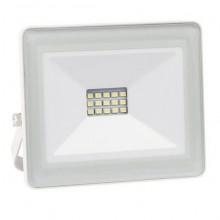 Projector LED SLIM IP65 Branco Frio 6000K 10W (Aluminio Branco)