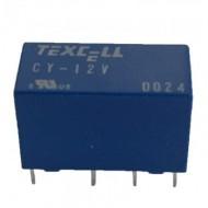 Relé 8 pinos 12 V DC Duplo Inversor