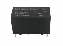 Relé 9V 2 amperes duplo - JRC-27F / 009-s (555)