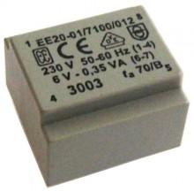 Transformador Encapsulado p/ CI 0-230VAC 6V 0.35VA