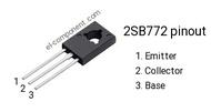 Transistor 2SB772