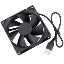Ventilador 80x80x25mm 5V c/ ficha USB