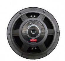 Woofer 380mm 8 + 8 Ohm 300W HI-FI com grelha