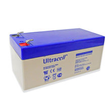 Bateria Chumbo 12V 3,4Ah (134x65x60 mm) - Ultracell