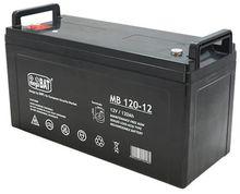 Bateria Chumbo 12V 120Ah (407 x 174 x 209 mm) - megaBAT