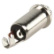 Ficha Jack 3.5 milimetros Stereo Fêmea Metálica de Painel