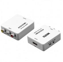 CONVERSOR DE VIDEO (RCA + AUDIO) PARA HDMI