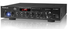 Amplificador HI-FI c/ USB / SD / BT / FM 2x 200W