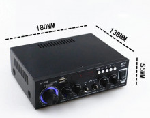 Amplificador HI-FI c/ USB / SD / BT / FM 2x 50W