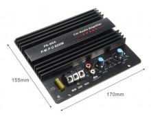 Amplificador subwoofer automotivo, módulo de alta potência para SUBwoofer12v 600w