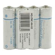 Bateria Zinco-carbono AA 1,5 V (Pack de 4 unidades)