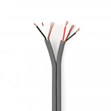 Cabo de áudio balanceado duplo 2x 0,16 mm² (Alta Qualidade) - metro