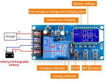 Carregador inteligente de Bateria de Chumbo 6V / 12V / 24V / 36V / 48V - 30A