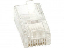 Ficha Rede RJ45 CAT6 8 Pinos