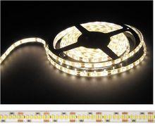 Fita 1200 LEDs SMD2835 Flexivel IP20 Branco Q. 3000K 12V - 5 mts