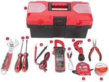 Kit Ferramentas Aquecimento, Ventilação e Ar Condicionado (HVAC) 11 pcs - UNI-T