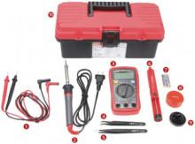 Kit Ferramentas Básico Estudandes Electrónica (10 pcs) - UNI-T