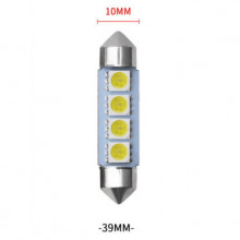 Lâmpada SMD LED Festoon (torpedo) 39 milímetros