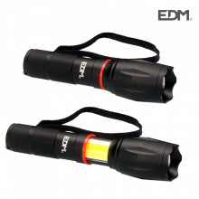 Lanterna LED XL Extensível LED Frontal 200 Lm e Lateral 120Lm EDM