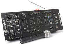 Mesa de Mistura Amplificada 300W 6 Canais Bluetooth/VHF (STM-3018A) - Skytec
