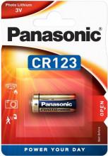 Pilha Lithium CR123A 3V - PANASONIC