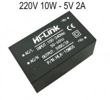 Transformador AC/DC encapsulado mini 220V / 5V 2A - 10W