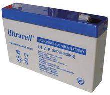 Bateria Chumbo 6V 7Ah (151 x 34 x 94 mm) - Ultracell