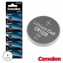 Pilha Lithium Botão Cr1220 - CAMELION