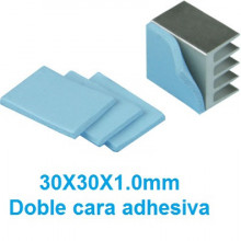 Almofada Térmica Adesiva Dupla Face 30x30x1mm