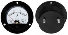 Amperímetro Redondo de Painel 30A DC - ProFTC