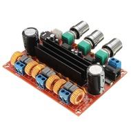 Amplificador Módulo 2.1 - 50W+50W + 100W RMS
