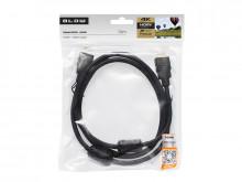 CABO HDMI 4K (2160P/1080P) MACHO-MACHO (1,5 MTS) Preto