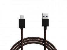 Cabo USB para USB-C 3.0 (Tecido trançado) - 1 metro BLOW