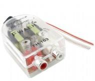 Conversor Audio de alta para baixa RCA Transparente