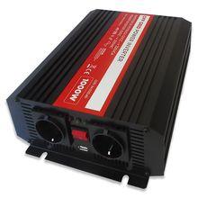 Conversor ONDA PURA 12V -> 220V 1000W USB - ProFTC