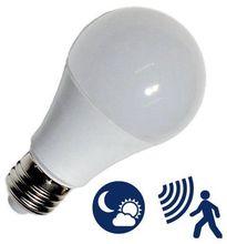 Lampada LED 220V E27 10W Branco F. 6000K 806Lm c/ Sensor Crepuscular + Presença - GSC