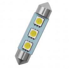 Lâmpada SMD LED Festoon (torpedo) 41 milímetros