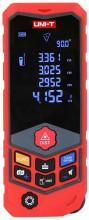 """Medidor de Distâncias a Laser c/ Curvatura 2,4"""" USB IP65 (50 mts) - UNI-T"""