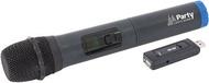 Microfone s/ Fios UHF c/ Receptor USB