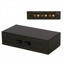 Pré-amplificador Gira-discos Stereo com entrada Auxiliar selecionável