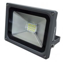 Projector LED IP65 Branco Frio 6400K 20W