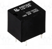 Relé 12VDC 20A SPDT (5 pinos) LQ-12S